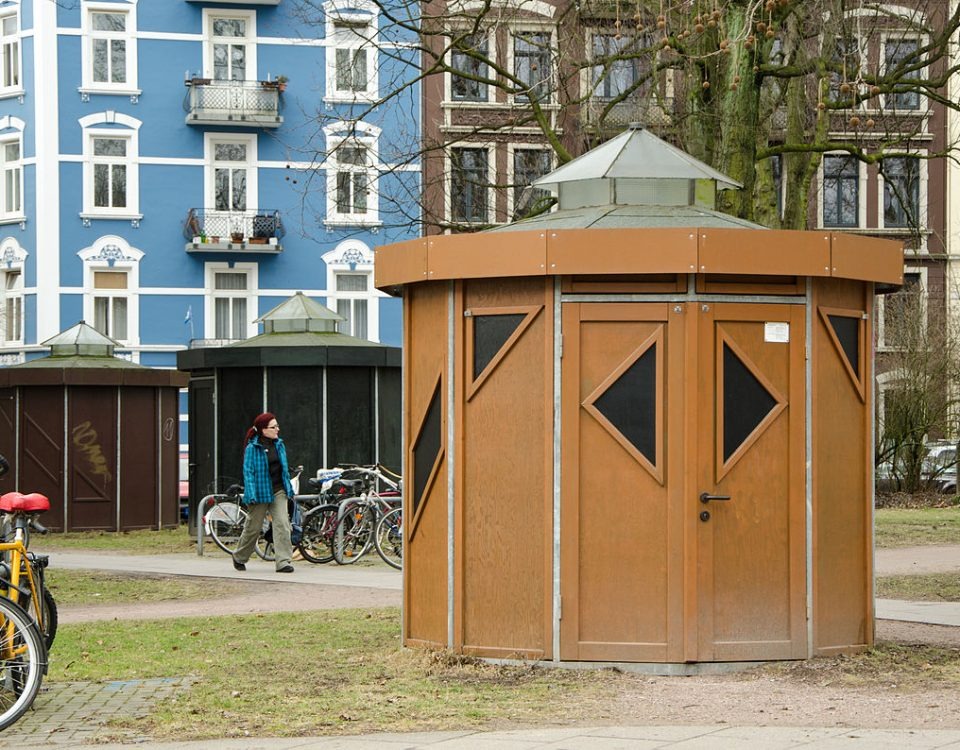 Hamburger Fahrradhäuschen / an-d, CC-BY-SA 3.0