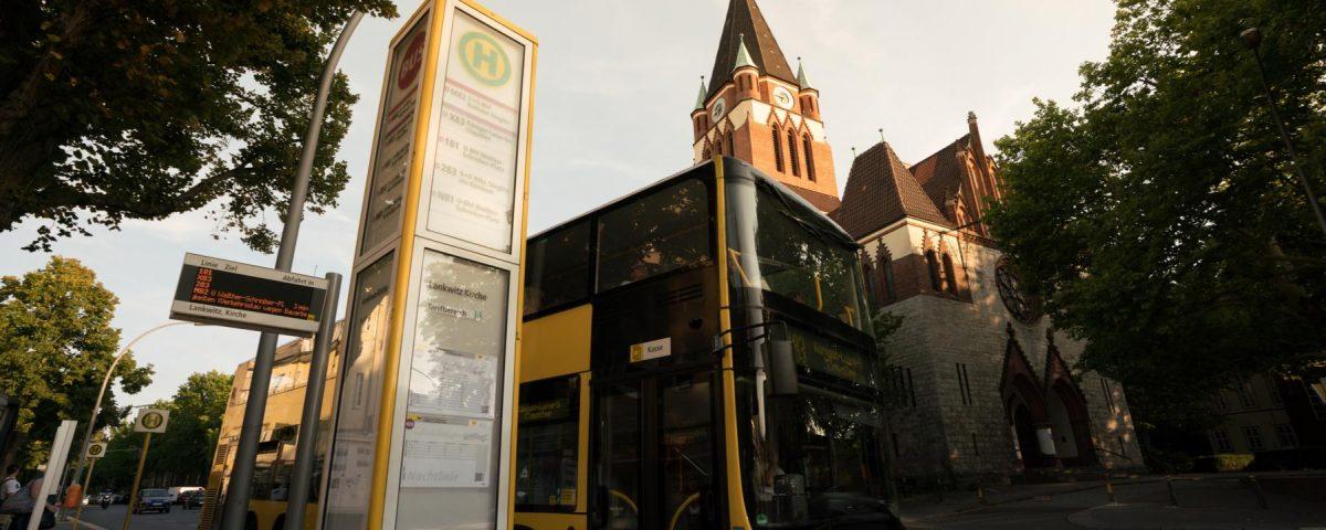 Der 284er Bus in Lankwitz