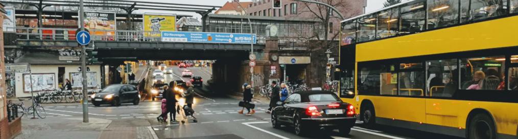 Verkehrsmix in Steglitz-Zehlendorf